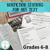 Nonfiction Stations for ANY text