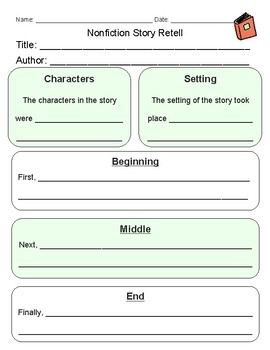Nonfiction Story Retell