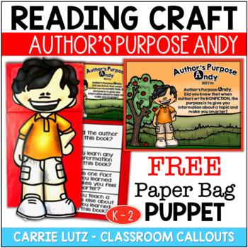 Nonfiction Strategy Puppet Freebie