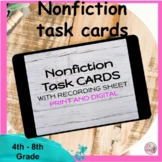 Nonfiction Task Cards