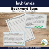 Literacy Centers: Insects | May Center Nonfiction Task Car
