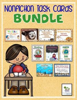 Nonfiction Task Cards Bundle