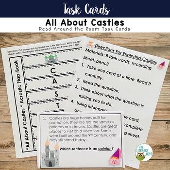 Nonfiction Task Cards-Castles