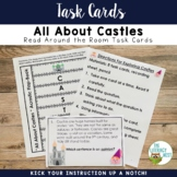 Task Cards: Castles | Read Around the Room Nonfiction Lite