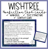 Nonfiction Task Cards Related to Wishtree by Katherine Applegate