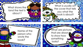 Nonfiction Task Cards and Labels