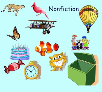 Nonfiction Terms Smartboard Game