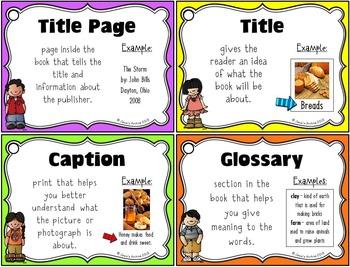 Nonfiction Text Features