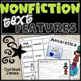 Nonfiction Text Feature Activities with Passages, Cut N' Paste, No Prep!