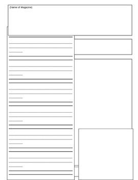 Nonfiction Text Feature Article Format