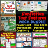 Nonfiction Text Feature BUNDLE with Distance Learning Options