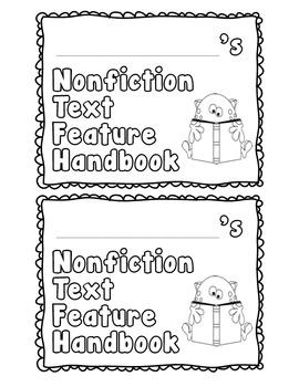 Nonfiction Text Feature Book Literacy.RI.2.5, Literacy.RI.2.7, Literacy.RI.2.6