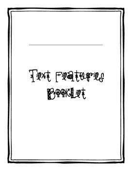 Nonfiction Text Feature Booklet