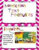 Nonfiction Text Feature Chart Cards