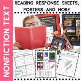 Non Fiction Text Features Posters for First and Second Grade
