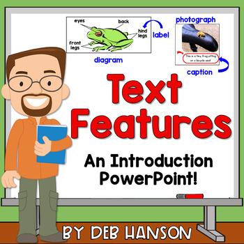 Nonfiction Text Feature PowerPoint (120 slides!)