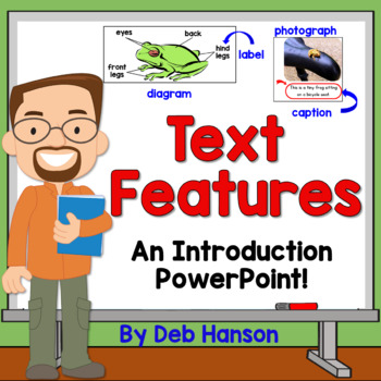 Nonfiction Text Feature PowerPoint (120 slides!)