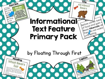 Informational Text Feature Primary Pack