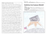 Reading: Nonfiction Text Feature Report Outline