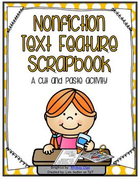 Nonfiction Text Feature Scrapbook - Scavenger Hunt Activity