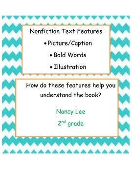 Lesson Plan Nonfiction Text Features