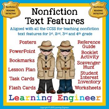 Non Fiction Text Feature or Nonfiction Text Feature: Infor