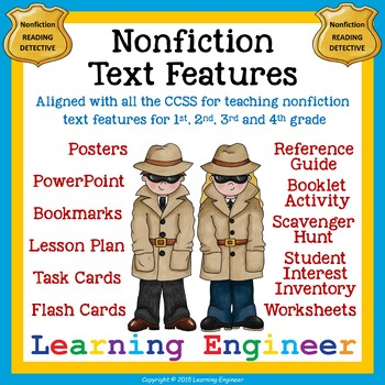Non-fiction Text Feature Activities for Informational Text