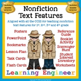 Library Lesson, Report Writing, Nonfiction Text Features