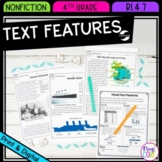 Nonfiction Text Features- 4th Grade RI.4.7