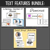 Nonfiction Text Features - Hands-On Activities Bundle