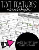Nonfiction Text Features Assessment