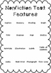 Nonfiction Text Features BINGO