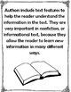 Nonfiction Text Features Book- Students Write Definition