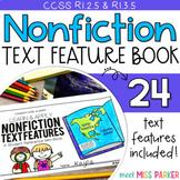 Nonfiction Text Features Scavenger Hunt Activity Book