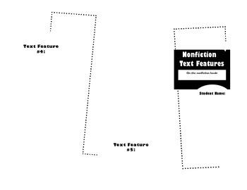 Nonfiction Text Features Brochure Template