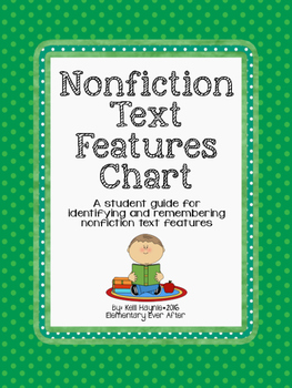 Nonfiction Text Features Chart