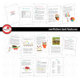 Nonfiction Text Features Clipart by Poppydreamz