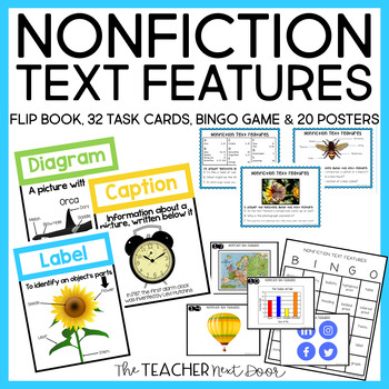 Nonfiction Text Features | Nonfiction Text Features Activities