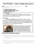 Nonfiction Text Features - Common Core