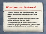 Nonfiction Text Features Determining Importance PowerPoint