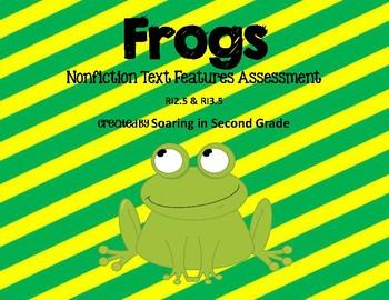 Nonfiction Text Features FROG