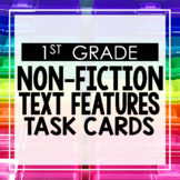 Nonfiction Text Features First Grade Toothy® Task Kits
