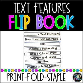 Nonfiction Text Features Flipbook