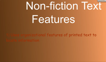 Nonfiction Text Features Flipchart