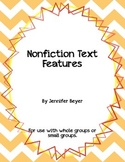 Nonfiction Text Features Foldables Mini Unit