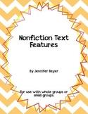 Nonfiction Text Features Foldables Mini Unit
