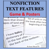Nonfiction Text Features Game | I Have Who Has