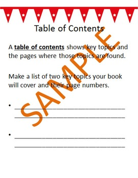 Nonfiction Text Features Guide