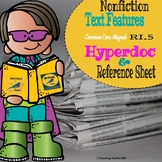 Nonfiction Text Features Hyperdoc and Reference Guide