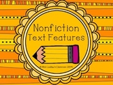 Nonfiction Text Features Introductory Lessons and Activities
